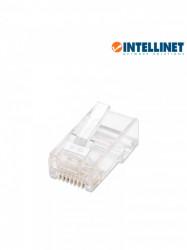 INTELLINET - ITL1610009 - INTELLINET 502399 - PLUG RJ45 CAT 5e / UTP SOLIDO / 100 Pzas