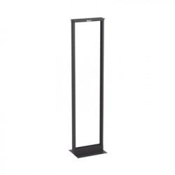 """PANDUIT - R2P - Rack de Dos Postes Estándar de 19"""" Numerado Fabricado en Aluminio y 45 Unidades de Rack Color Negro"""
