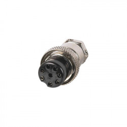 Syscom - M-28 - Conector de Micrófono Macho de 8 contactos.