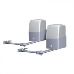 AccessPRO - XBS-PK06 - Kit de Motores Para Puertas Abatibles 3m 300 kg Máximo Por Puerta Incluye Cuadro de Mando y 2 Controles Remotos