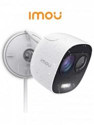 DAHUA - DAI6360004 - IMOU LOOC - Camara IP Bullet WiFi de 2 Megapixeles/ Lente de 2.8mm/ 111 Grados de Apertura/ Disuasion Activa/ Sirena y Luz integradas/ H.265/ Audio Bidireccional/ Ranura MicroSD/ PIR Integrado/ IP65/ Compatible con Cloud Alexa y Asist