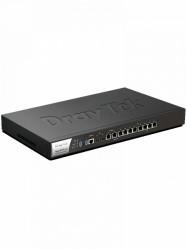 DRAYTEK - DRY1780002 - DRAYTEK VIGOR3910- Ruteador Multi WAN/ 8 Puertos configurables LAN WAN/ 2 x SFP+ 10Gigabit/ 2 x RJ45 2.5Gigabit/ 4 x RJ45 1Gigabit/ 4 Puertos LAN RJ45 Gigabit/ 500 Túneles VPN/