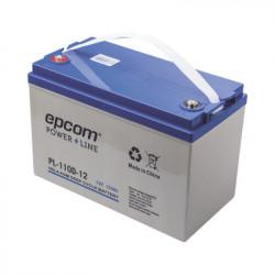 EPCOM POWERLINE - PL-110-D12 - Acumulador EPCOM 12Vcd 110Ah Tecnología VRLA AGM Ciclo Profundo para Aplicaciones Fotovoltaicas