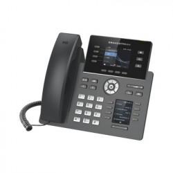 """GRANDSTREAM - GRP-2614 - Teléfono IP Wi-Fi Grado Operador 4 líneas SIP con 4 cuentas pantalla a color 2.8"""" puertos Gigabit Bluetooth PoE codec Opus IPV4/IPV6 con gestión en la nube GDMS"""