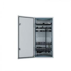 PANDUIT - ZDF48-RA - Gabinete Industrial Preconfigurado de Montaje en Pared Fabricado en Acero Bajo en Carbono Protección NEMA 4/12 IP66 de 26 UR Color Gris