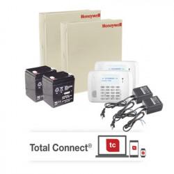 HONEYWELL HOME RESIDEO - VISTA48DOBLE - 2 Panales de Alarma VISTA48/6162RF con Receptor Inalambrico Batería y Transformador