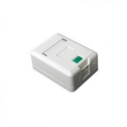 LINKEDPRO - LP-WP-05 - Caja de pared con 1 puerto Keystone no incluye jack