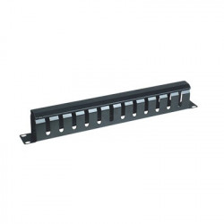 "LINKEDPRO - LPCM-04 - Organizador de cables horizontal 19"" con cubierta metálica 1U"