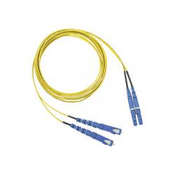 PANDUIT - F92ERLNSNSNM001 - Jumper de Fibra Optica Monomodo 9/125 OS2 LC-SC Duplex OFNR (Riser) Color Amarillo 1 Metro