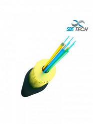 SBE TECH - SBT1930007 - SBETECH SBE-FOINE65010GOM4 - Fibra Optica para uso interior/exterior tubo apretado 50/125 LSZH 10G OM4 6 hilos / Metro