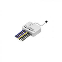SFIRE - TZ-74 - Modulo de relevador contacto seco con tecnologia inalambrica Z-WAVE compatible con HUB HC7 panel de alarma L5210 L7000 con Total Connect
