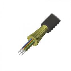 SIEMON - 9GD8P004C-E201A - Cable de Fibra Óptica de 4 hilos Interior/Exterior Tight Buffer No Conductiva (Dielectrica) Plenum Monomodo OS2 1 Metro