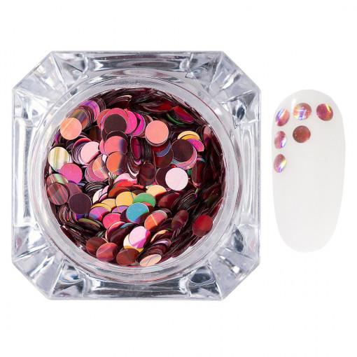 Poze Confetti Unghii LUXORISE #012 Colorful Spots