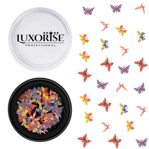 Poze Decoratiuni Unghii Nail Art Butterfly Symphony, LUXORISE