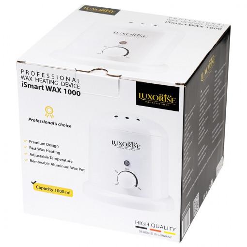 Poze Incalzitor Ceara Profesional LUXORISE iSmart WAX 1000 ml