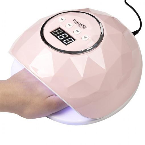Poze Lampa UV LED LUXORISE Diamond PRO 72W, Roz