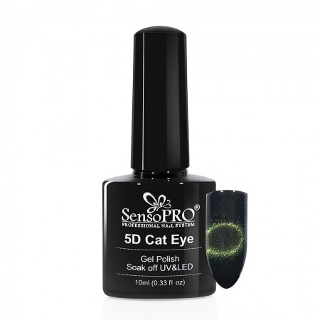 Poze Oja Semipermanenta Cat Eye 5D SensoPRO Comet #06, 10ml