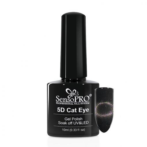 Poze Oja Semipermanenta Cat Eye 5D SensoPRO Puppis #09, 10ml