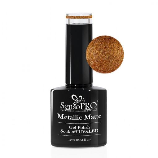 Poze Oja Semipermanenta Metallic Matte SensoPRO #04 Bazaar, 10ml