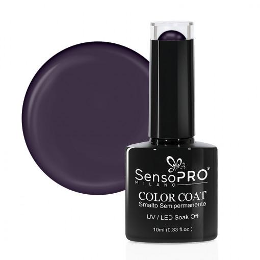Poze Oja Semipermanenta SensoPRO Milano 121 Dark Purple Pearl, 10ml