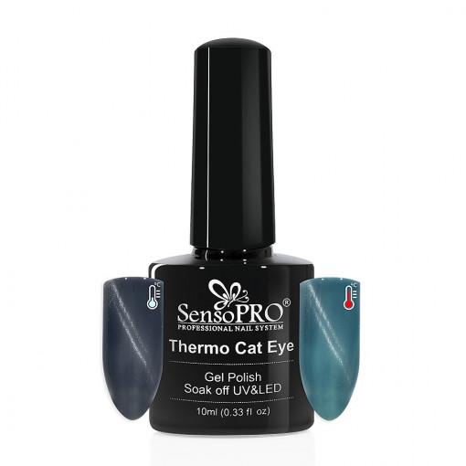 Poze Oja Semipermanenta SensoPRO Thermo Cat Eye #12, 10 ml