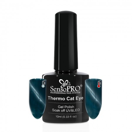 Poze Oja Semipermanenta SensoPRO Thermo Cat Eye #24, 10 ml