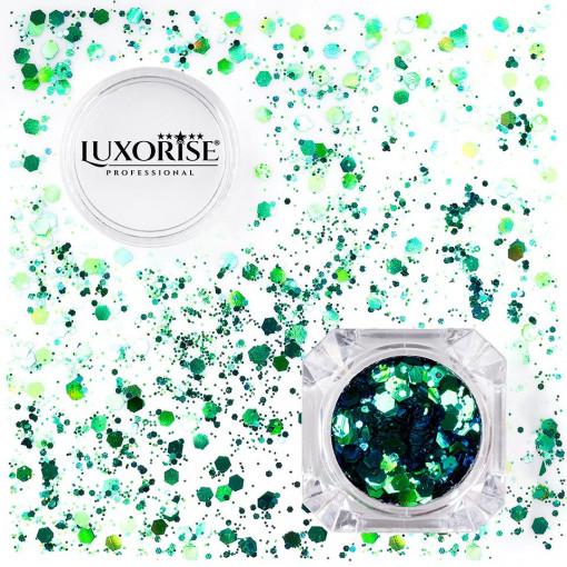 Poze Paiete Unghii LUXORISE #10 Disco Lights