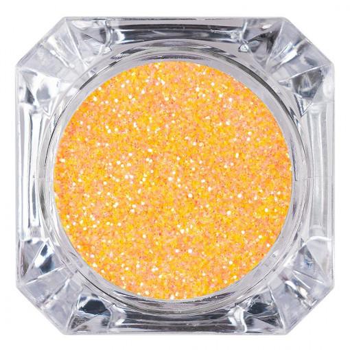 Poze Sclipici Glitter Unghii Pulbere Orange #17, LUXORISE