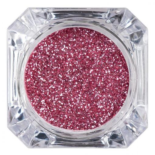 Poze Sclipici Glitter Unghii Pulbere Roz #33, LUXORISE