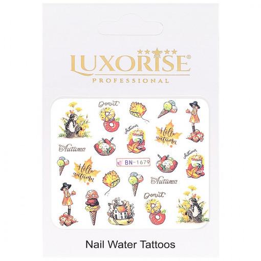 Poze Tatuaj UnghiiFall BN-1679, LUXORISE