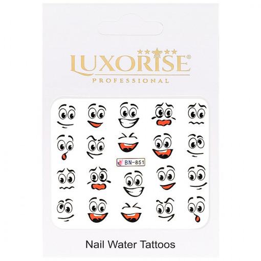 Poze Tatuaj unghii Emotions BN-851, LUXORISE