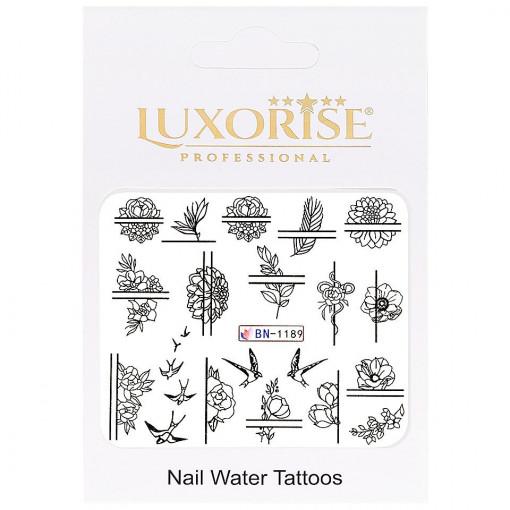 Poze Tatuaj unghii Fantasy BN-1189, LUXORISE