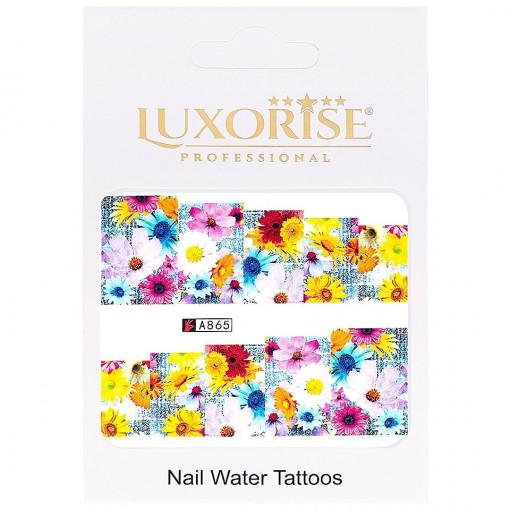 Poze Tatuaj unghii Nature A865 LUXORISE
