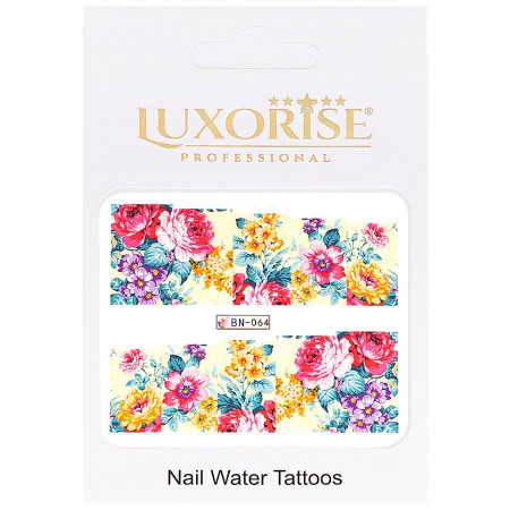Poze Tatuaj Unghii Nature BN-064, LUXORISE