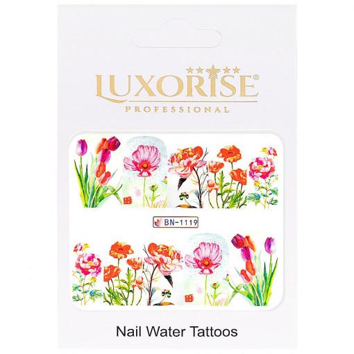 Poze Tatuaj unghii Nature BN-1119, LUXORISE