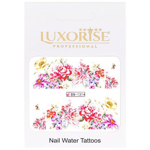 Poze Tatuaj unghii Nature BN-1314, LUXORISE