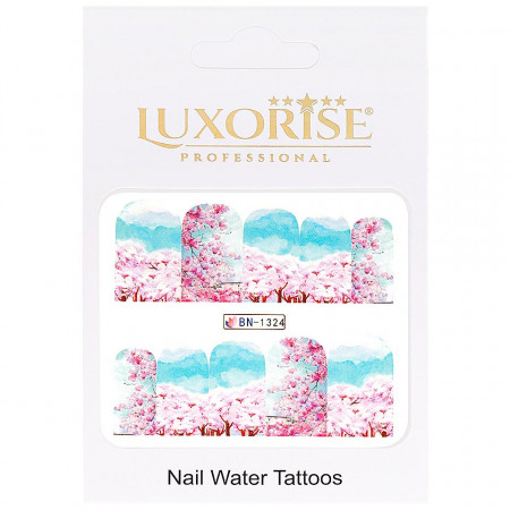 Poze Tatuaj Unghii Nature BN-1324, LUXORISE