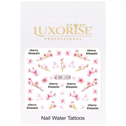 Poze Tatuaj unghii Nature BN-1333, LUXORISE