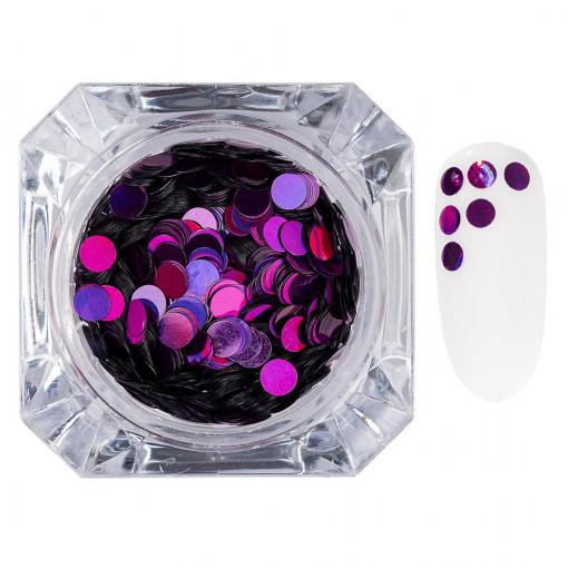 Poze Confetti Unghii LUXORISE #013 Colorful Spots