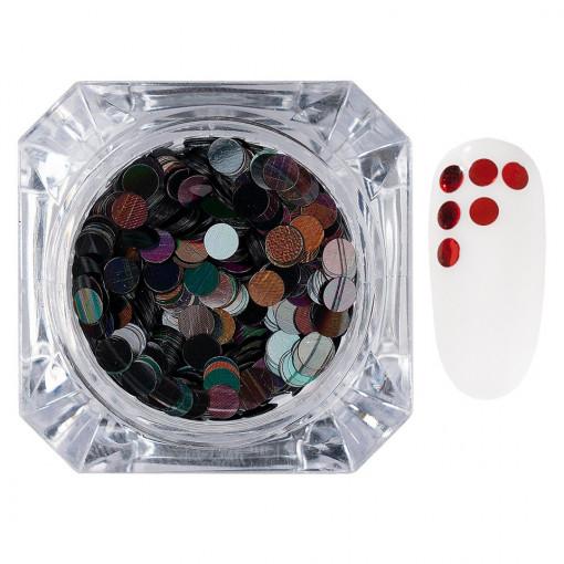 Poze Confetti Unghii LUXORISE #03 Colorful Spots