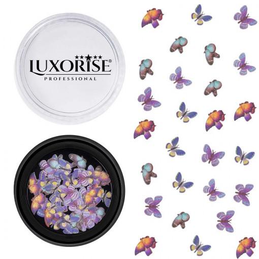 Poze Decoratiuni Unghii Nail Art Butterfly Breeze, LUXORISE