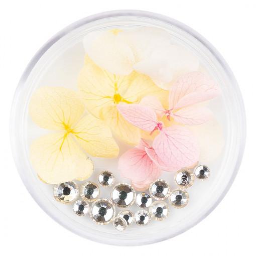 Poze Flori Uscate Unghii cu cristale - Floral Fairytale #14 LUXORISE