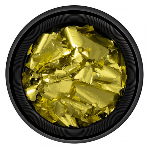 Poze Foita Unghii Unique Gold Sun #19, LUXORISE