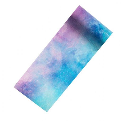 Poze Folie Transfer Unghii LUXORISE Purple Clouds #324