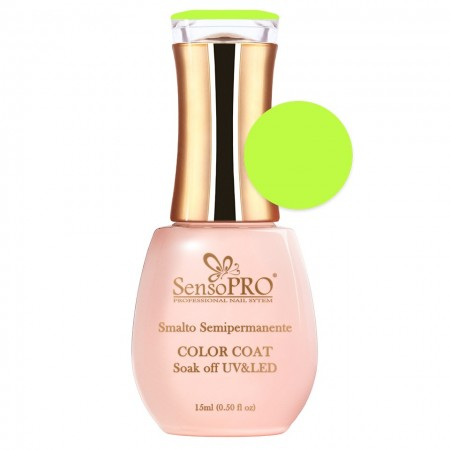Poze Oja Semipermanenta SensoPRO Hot Lime #028, 15ml