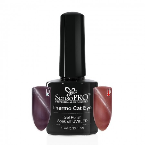 Poze Oja Semipermanenta SensoPRO Thermo Cat Eye #04, 10 ml