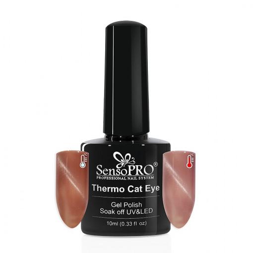Poze Oja Semipermanenta SensoPRO Thermo Cat Eye #13, 10 ml