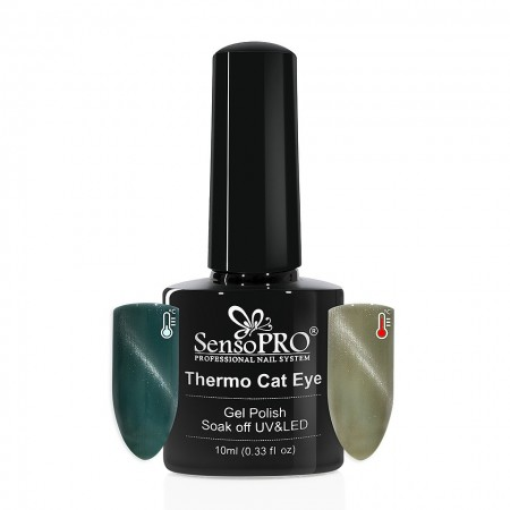Poze Oja Semipermanenta SensoPRO Thermo Cat Eye #25, 10 ml
