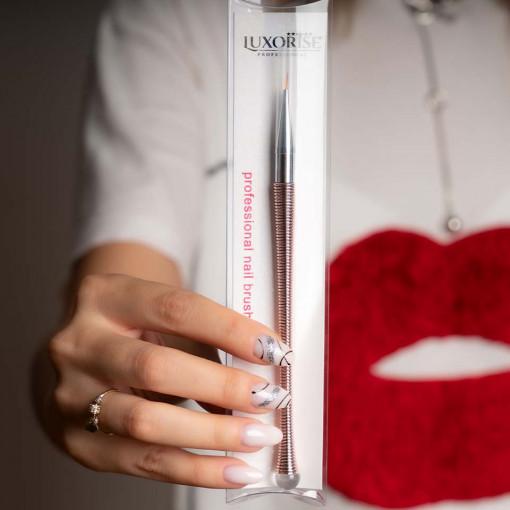 Poze Pensula nail art LUXORISE Crystal Mastery