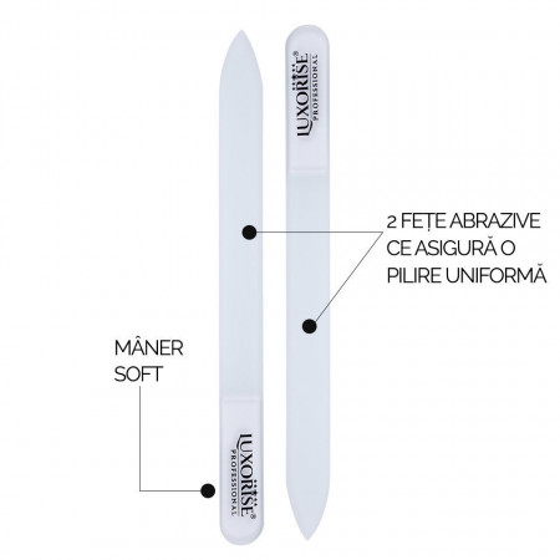 Poze Pila de Sticla Nano Glass File LUXORISE, Transparent